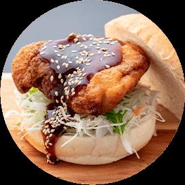 ヤンニョムチキンバーガー